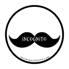 incognito printable iron on patch from it looks good on me