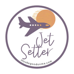 jet setter printable iron on patch from it looks good on me
