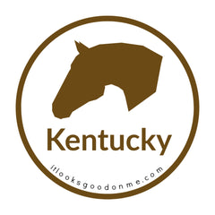 Kentucky horse picture iron on patch it looks good on me