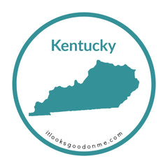Kentucky state outline printable iron on patch it looks good on me