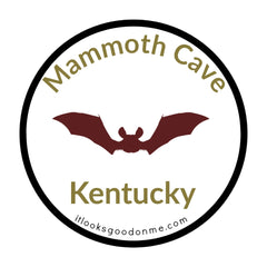 Mammoth Cave Kentucky printable iron on patch national park