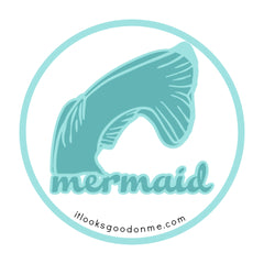 mermaid printable iron on patch from it looks good on me