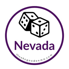 Nevada dice picture iron on patch it looks good on me