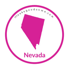 Nevada state outline printable iron on patch it looks good on me