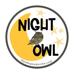 night owl printable iron on patch from it looks good on me
