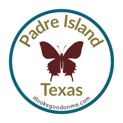 Padre Island Texas national seashore patch from it looks good on me