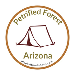 Arizona Petrified Forest National Park printable iron on patch It Looks Good On Me