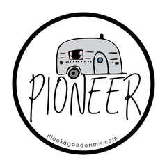 pioneer printable iron on patch from it looks good on me