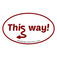 this way printable iron on patch from ILGOM