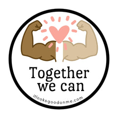 together we can printable iron on patch it looks good on me