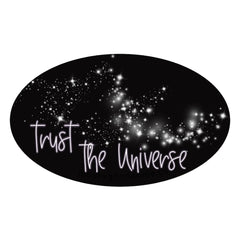 trust the universe printable iron on patch