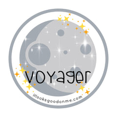 voyager iron on patch from it looks good on me