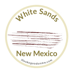 White Sands National Park New Mexico printable iron on patch it looks good on me