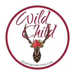 Wild Child deer iron on patch from it looks good on me