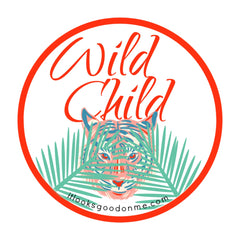 wild child tiger printable iron on patch from it looks good on me