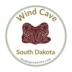 Wind Cave South Dakota National Park printable iron on patch It Looks Good On Me