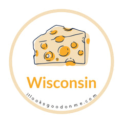 Wisconsin cheese picture iron on patch it looks good on me