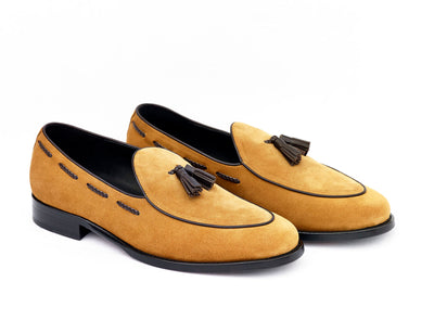 Belgian Loafers Mckintami Suede brown