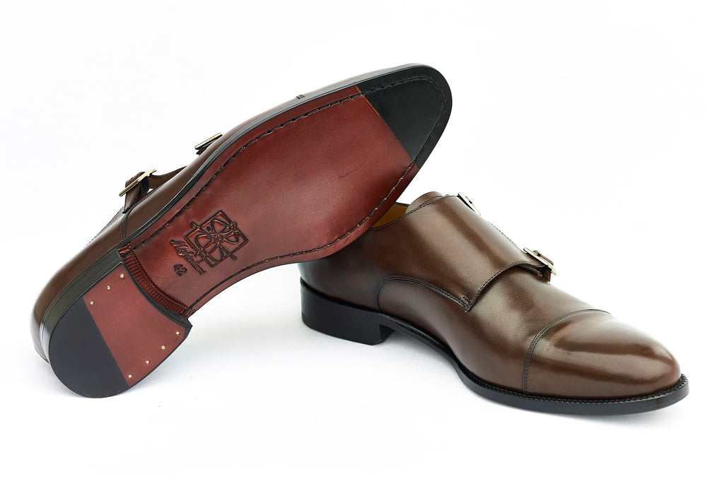 Double strap buji monk mckintami footwear