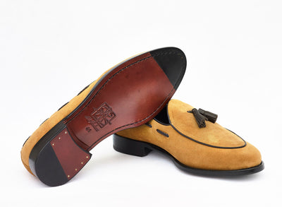 The Wangara Loafers - Suede Brown