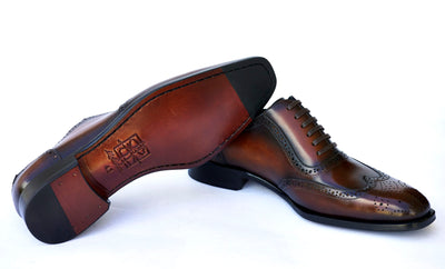 mckintami oxford shoes brown