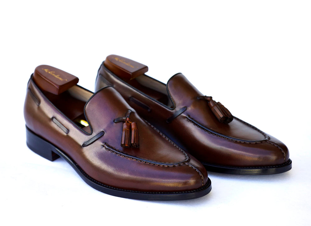 tassel loafer mckintami brown