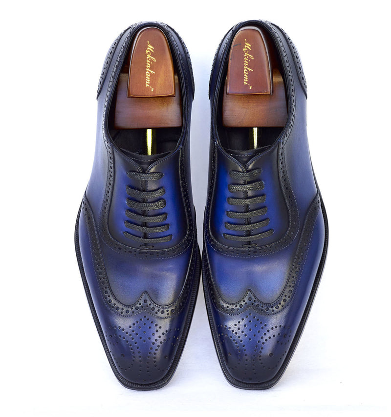 Lamido Brogues Royal Blue