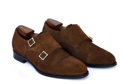 """BUJI Monk"" Suede Brown"