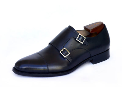 Double straps Buji monk shoe