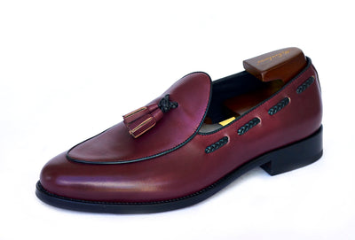 mckintami wangara loafer burgundy