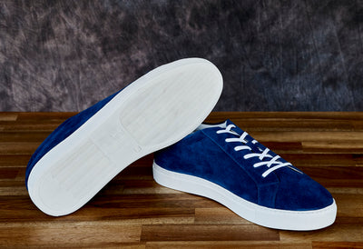 blue sneakers for entrepreneurs