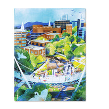 Load image into Gallery viewer, Greenville, SC Notecard Collection of Local Art (Set of 12)