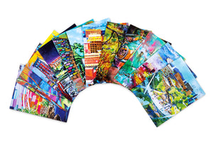 Greenville, SC Notecard Collection of Local Art (Set of 12)
