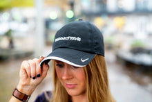 Load image into Gallery viewer, #yeahTHATgreenville Black Nike Baseball Cap