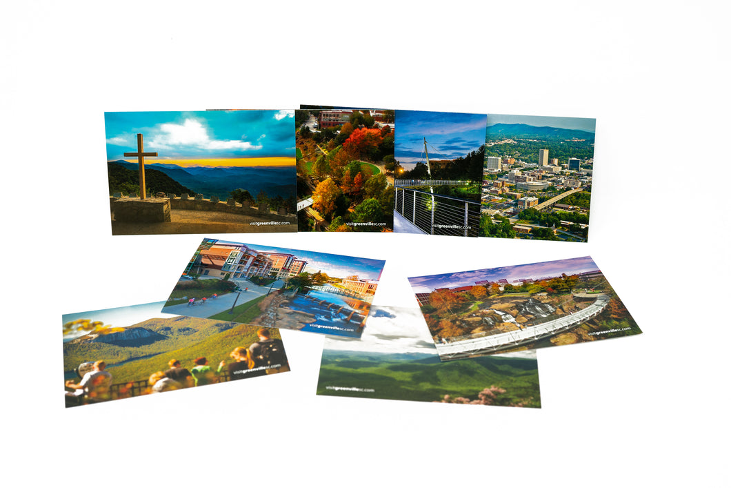 Greenville, SC Postcard Collection (Set of 7)