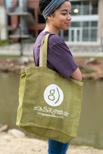 Load image into Gallery viewer, Burlap Tote Bag