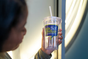 "Clear ""Yeah, THAT Greenville"" Tumbler"