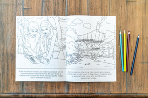Greenville, SC Coloring Book