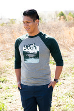 Load image into Gallery viewer, Liberty Bridge at Falls Park on the Reedy Baseball Tee