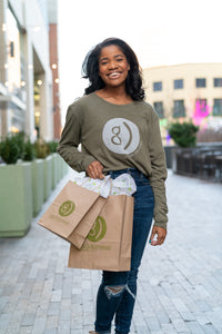 Brown Paper Gift Bags (2 Sizes Available)