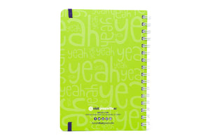 Spiral-Bound Hardcover Notebook