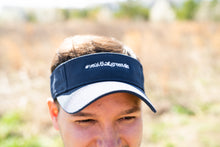 Load image into Gallery viewer, #yeahTHATgreenville Navy Visor
