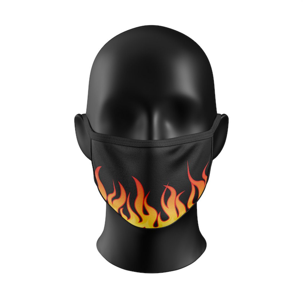 FLAMING MASK