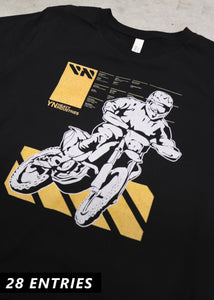 Dual Sport Supporter Tee