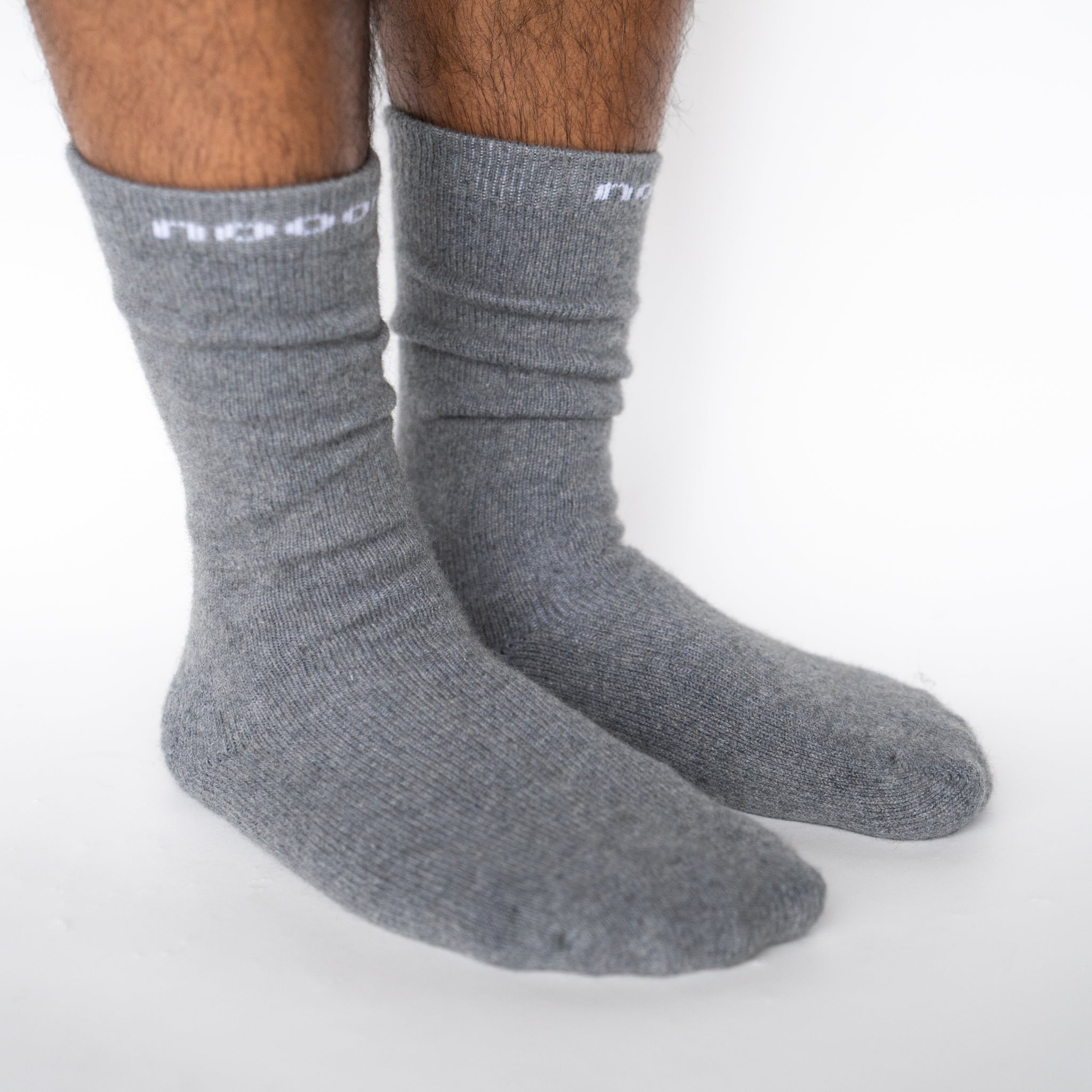 HUKA Socks, Pewter Men