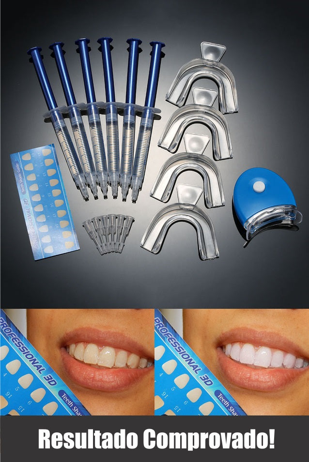 Kit Clareador Dental Veronez Outlet