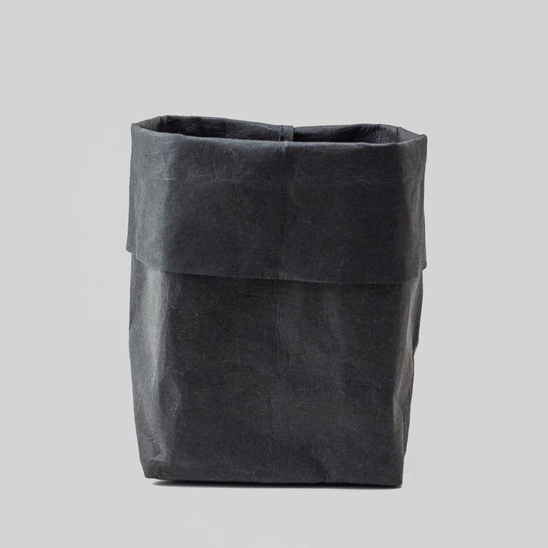 large black paper plant pot
