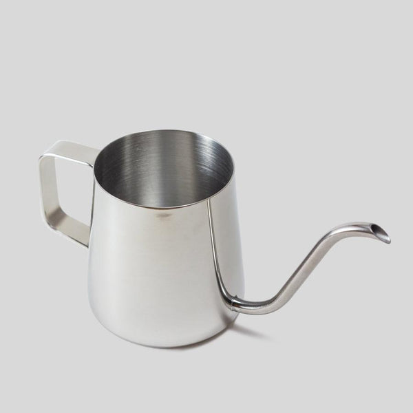silver stainless steel small watering can perfect for indoor houseplants