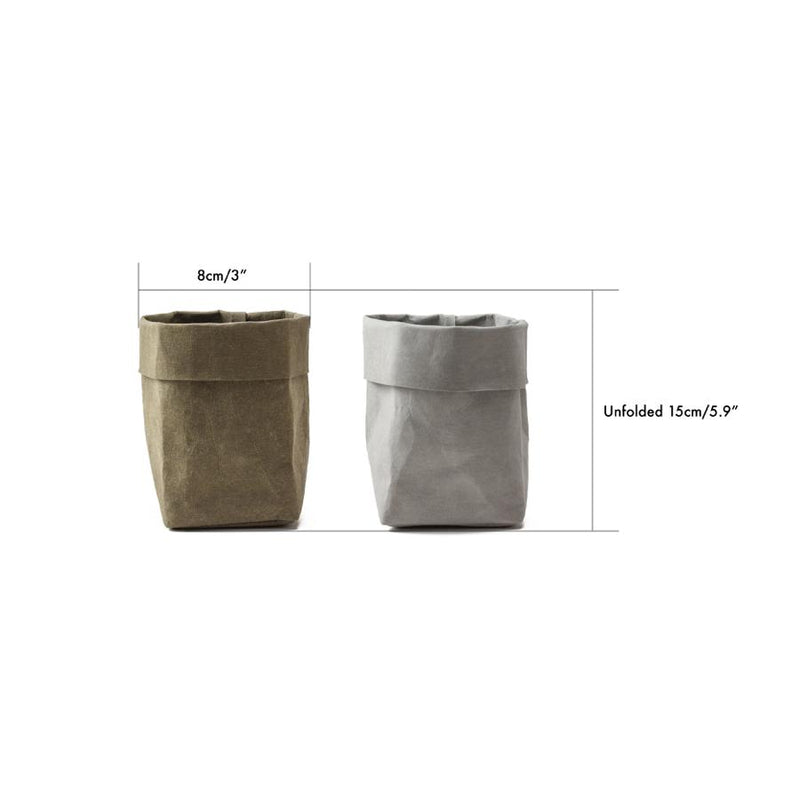 small washable paper plant pots
