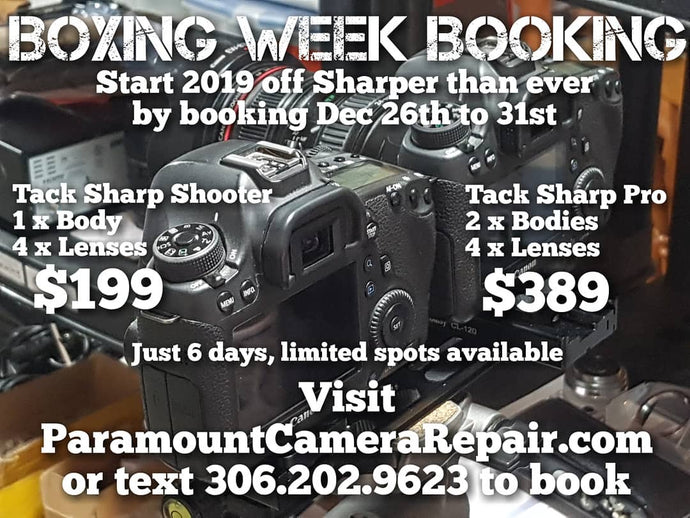 Boxing Week Savings are HERE!! Start 2019 out tack sharp!